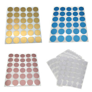 3/5 Sheets Round Scratch Off Stickers Labels Tickets Promotional Games Favors
