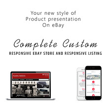 eBay store design and ebay listing HTML template Fully Customizable design