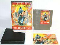 Ninja Gaiden NES Nintendo Complete CIB Authentic & Tested! Good Condition! NICE!