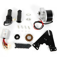 DC 24V 250W Electric Bicycle Conversion Kit E-Bike Motor Controller Freewheel