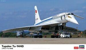 1/144 Tupolev Tu-144D 'Late Model' model kit by Hasegawa