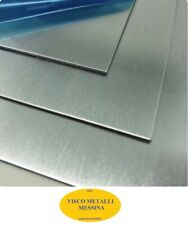 Lastra Lamiera Lamina Acciaio Inox Aisi 304 Satinato mm 0,6x500x500 c/pelabile