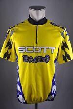 Scott bike rueda camiseta vintage talla L 54cm Jersey bicicleta Cycling camisa n3