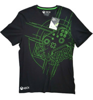 DIFUZED Official XBOX Men's Black Cotton Short Sleeve T-Shirt Size M BNWT New