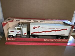 Nylint Steel 24 1/2 Inch Long Milwaukee Heavy-Duty Electric Tools Semi With Box