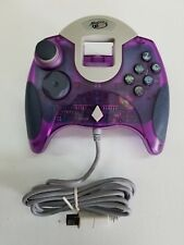 NEW Clear Purple Mad Catz Controller Control Dream pad for Sega Dreamcast
