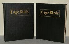 Cage Birds And Bird Fancy Magazines - 1951  - Bound.