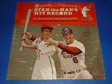 "STAN MUSIAL - ""STAN-THE-MAN'S HIT RECORD"" - RECORD ALBUM LP - PHILLIPS 66"