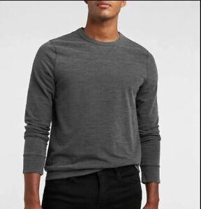 Express Slub Crew Neck Sweatshirt Gray (Big & Tall: 2XL)