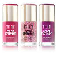 Milani Fierce Foil & Color Statement Nail Lacquer Polish Variety
