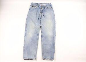 Diamond Gusset Mens 32x33 Relaxed Fit Casual Denim Jeans Pants Light Wash Cotton