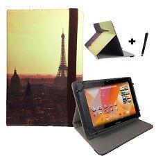 "9.7 POLLICI CUSTODIA COVER LIBRO per SONY Xperia Tablet S Tablet - 9,7 ""PARIS 1"