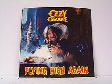 """OZZY OSBOURNE """"FLYING HIGH AGAIN"""" PICTURE SLEEVE ONLY"""