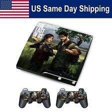 Sticker Skin Decal for PS3 SLIM Console & 2 Controllers Full Set Cover Protecter