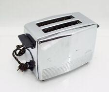 60er Jahre Toshiba TT 20A Toaster Zweischlitz Chrom Rockabilly