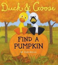 Duck & Goose, Find a Pumpkin Oversized Board Book