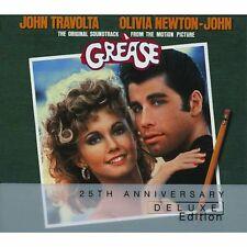Grease: 25th Anniversary Deluxe Edition - Original Soundtrack - UK CD album 1978