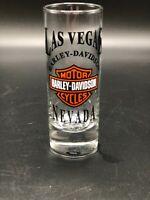 Las Vegas Nevada Harley-Davidson Tall Shot Glass