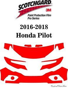 3M Scotchgard Paint Protection Film Pro Series Fits 2016 2017 2018 Honda Pilot