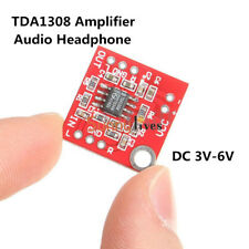 DC 3V-6V TDA1308 Digital Audio Headphone Amplifier Amp Preamplifier Board Module