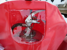 """RED Fire Extinguisher Cover with Window, Flame Resista Medium 25"""" x 16 1/2"""" NEW!"""