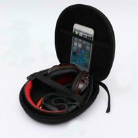 EVA Carrying Hard Case Bag Storage Box For Earphone Headset SH Headphone Pr Y6S4