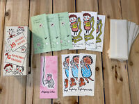 RARE Vintage 10  Greeting Cards & Box by White & Wyckoff- Studio Notes