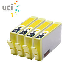 4 Yellow HP364XL UCI® Ink Cartridge fit for Photosmart 5515 5520 5524 6510 C6380