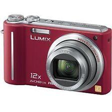 Panasonic Digital Camera Lumix1010 Megapixel 12X Optical Prism Red Dmctz7R
