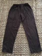 CMC Color Me Cotton Brown Terry Pants.Size M.NWT.