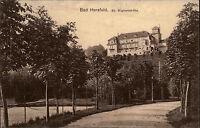 Bad Hersfeld St. Wigbertshöhe Feldpostkarte 1915 mit Stempel Feldpost n/ Gera