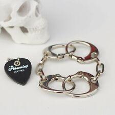 Handcuff Bracelet.Rolling Stones Keith Richards type chain.M Polishing type.