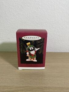1996 Hallmark Keepsake Ornament MARVIN the MARTIAN-LOONEY TUNES New in Box