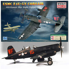 "MINICRAFT 1/48 F4U-5M CORSAIR USMC ""FLYING NIGHTMARES"" KOREAN WAR NIGHT FIGHTER"