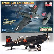 "MINICRAFT 1/48 F4U-5M CORSAIR USMC ""FLYING NIGHTMARES"" KOREAN WAR NIGHT FIGHTER"