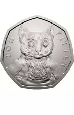 50p Coin 2017 Tom Kitten Beatrix Potter Fifty Pence coin Collectable Rare!!!