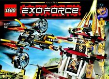 LEGO Exo-Force The Humans Fight for the Golden Tower (8107) Clean