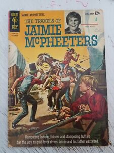 The Travels of Jaimie McPheeters No.1 Gold Key 1963 Young Kurt Russell! 5.0