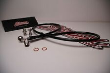 JBtuned Stainless Steel Cutch Line KSwap K20 K24 EG/EK Civic DC2 Integra Black