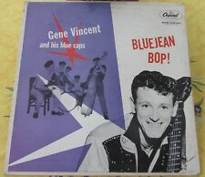 RARE GENE VINCENT and his BLUE CAPS LP BLUEJEAN BOP CANADIAN FIRST PRESSING