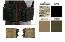 Airsoft Horizontal Double Mag ammo pouch Set MOLLE ( x2 ) MC