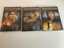MacGyver: The Complete Sixth Season (Dvd) Mint Discs 6 Dvds Total E3