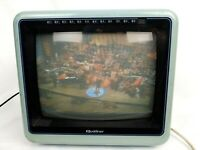 RETRO VINTAGE QUASAR  BLUE TV  Model WP2145XL 1985 Color TELEVISION