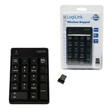 LOGILINK ID00120 NUMERISCHE TASTATUR - FUNK MIT NANO USB DONGLE - ZIFFERNBLOCK