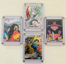 Superman Doomsday 1992 Skybox DC Comics Memorial Tribute Foil Chase Cards.