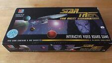 "Star Trek The Next Generation ""vidéo interactive Board Game 1994"