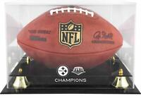 Pittsburgh Steelers Super Bowl XLIII Champs Golden Classic Football Logo Case