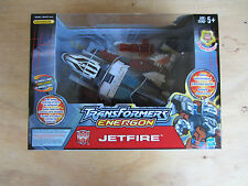 Transformers Voyager Energon Jetfire, Comic Book & Collector Card Included MISB