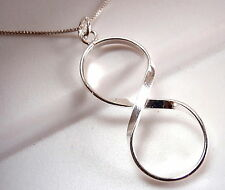 I Love You Forever Infinity Pendant 925 Sterling Silver wife girlfriend