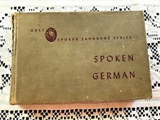 "Vintage ""Spoken German"" Holt Spoken Language Series Jenni Karding Moulton c.1944"